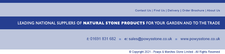 Powys & Marches Stone Supplies